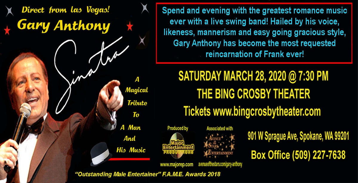 Sinatra The Tribute Show! Starring Gary Anthony