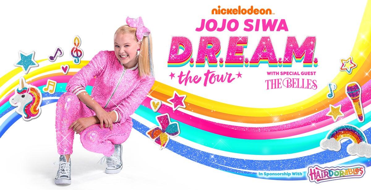 *Cancelled* Nickelodeon's JoJo Siwa D.R.E.A.M. Tour