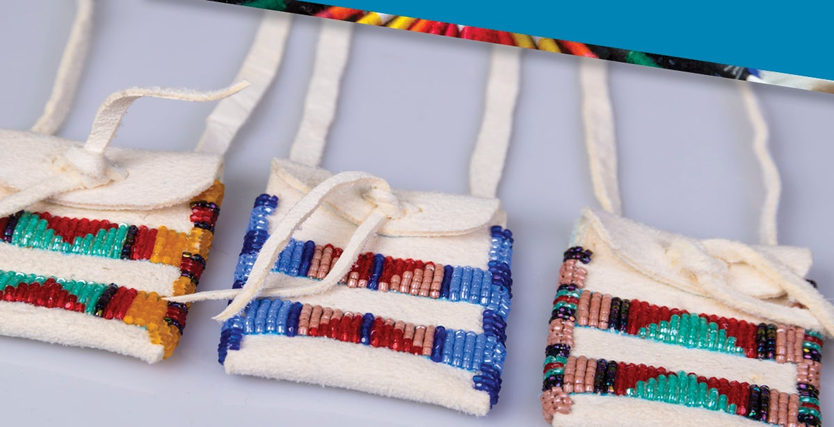 """Lifeways Workshop """"Make Your Own"""" Beaded Pouch"""
