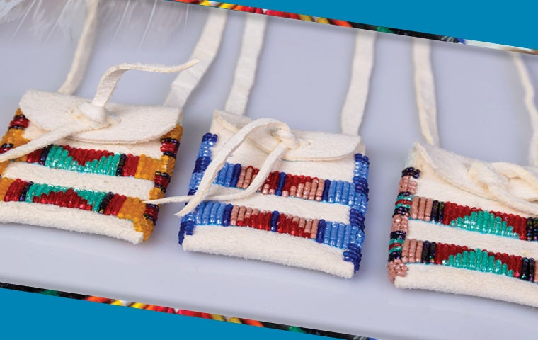 """More Info for Lifeways Workshop """"Make Your Own"""" Beaded Pouch"""