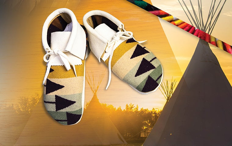 More Info for SOLD OUT - Make Your Own Pendleton Moccasins