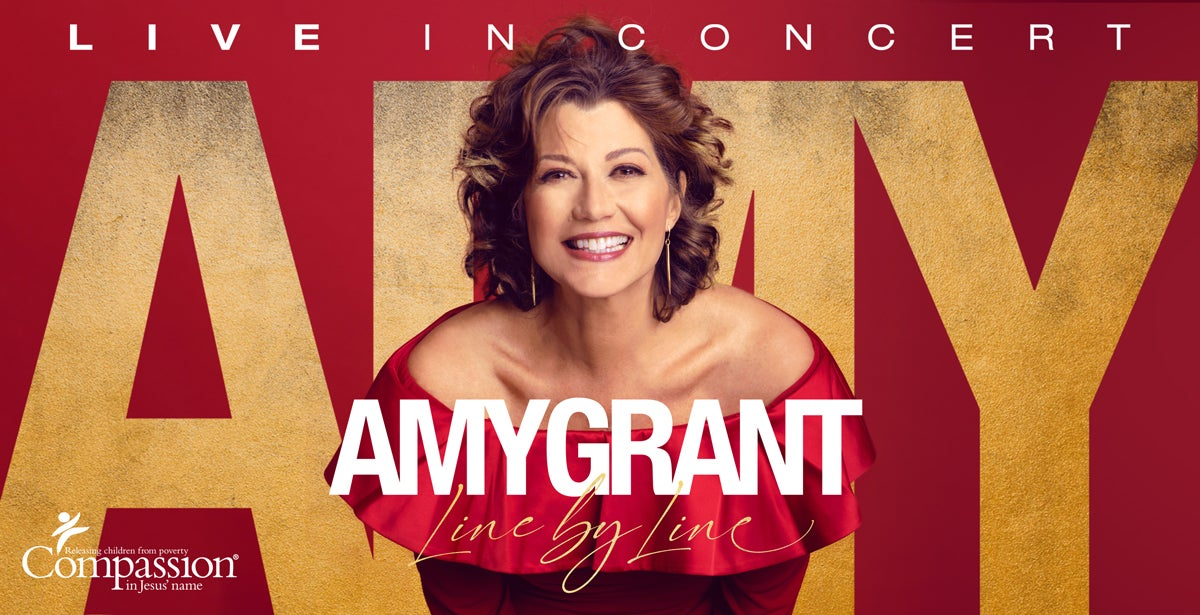 *Rescheduled * An Evening with Amy Grant