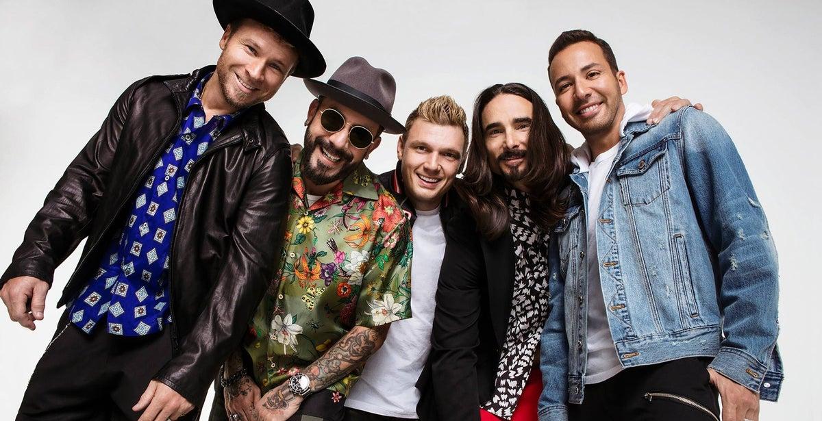 *Rescheduled* Backstreet Boys