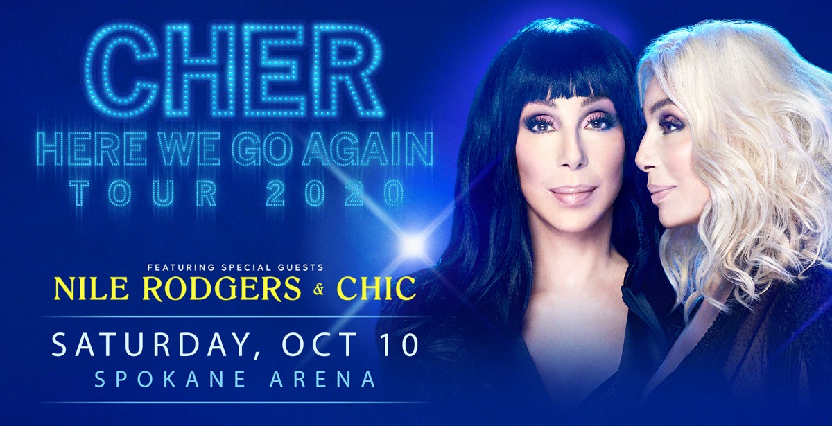 "*POSTPONED* CHER'S ""HERE WE GO AGAIN"" TOUR"