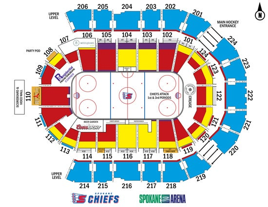 Spokane chiefs ticketswest