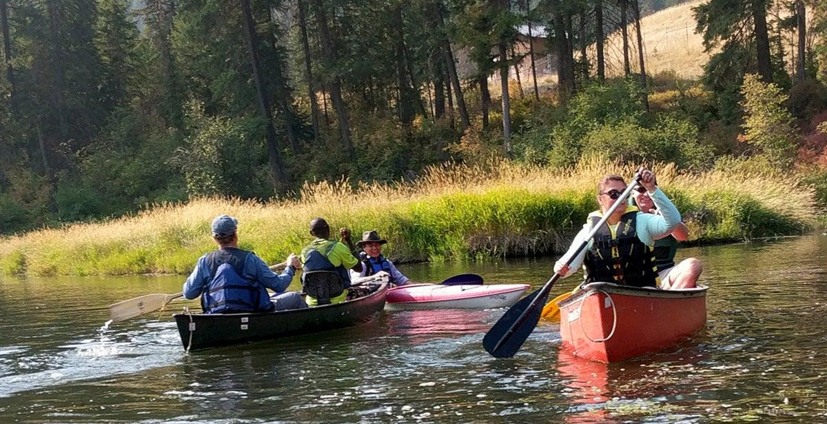 Kayaking and Canoeing Tour