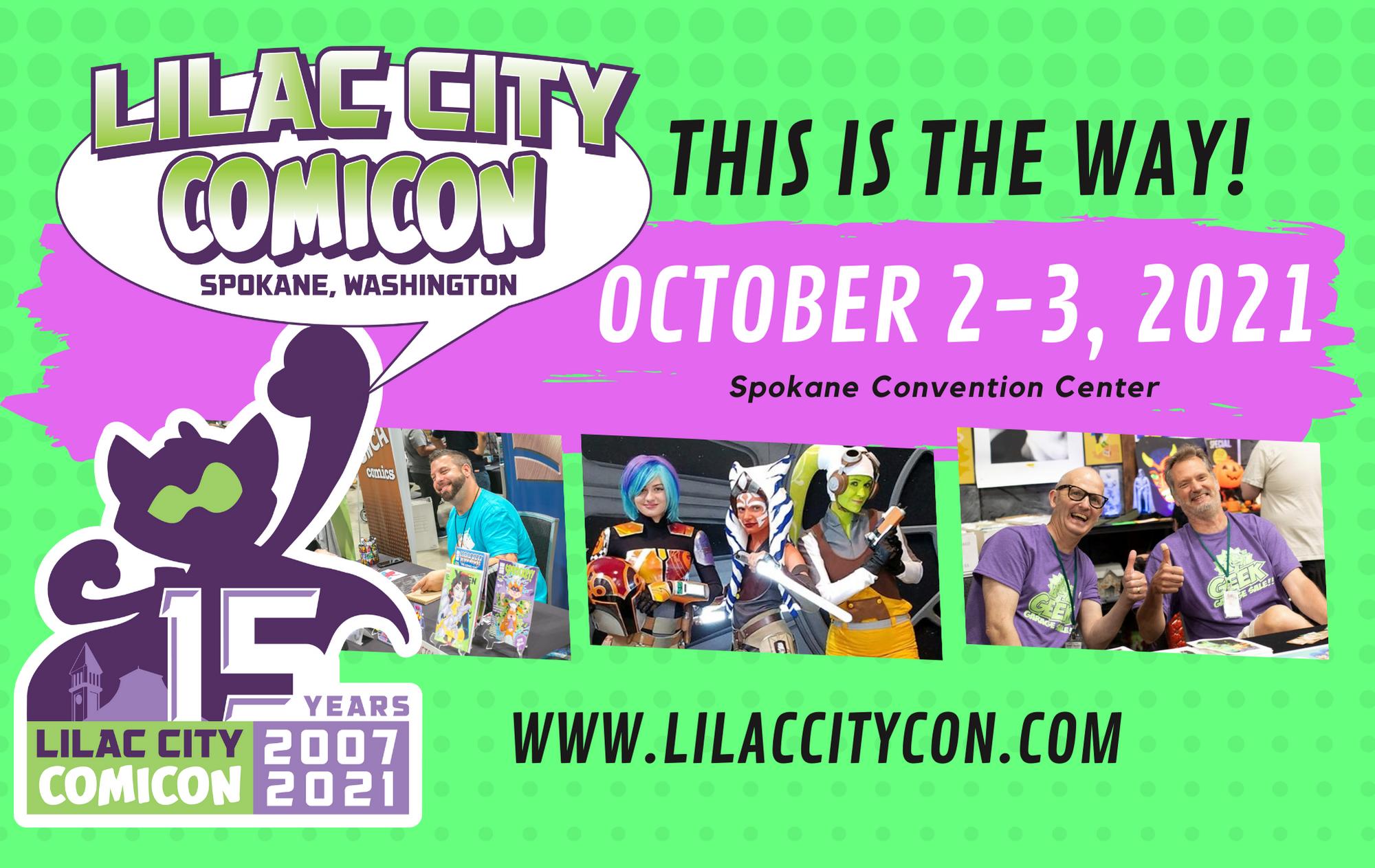 More Info for Lilac City Comicon