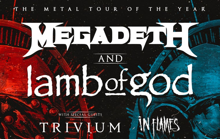 More Info for *Cancelled* Megadeth and Lamb of God