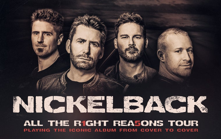 More Info for *CANCELLED* - Nickelback