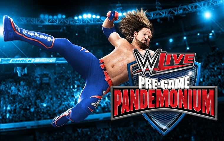 More Info for WWE LIVE PREGAME PANDEMONIUM