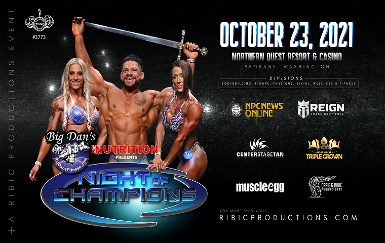 More Info for Night of Champions Bodybuilding