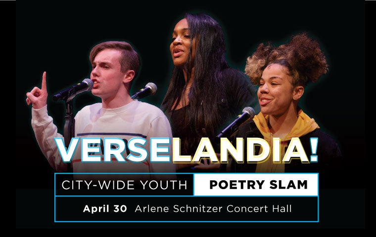 More Info for Literary Arts Presents - Verselandia