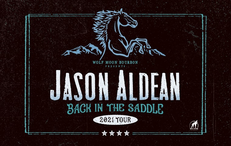 More Info for Jason Aldean: BACK IN THE SADDLE TOUR 2021