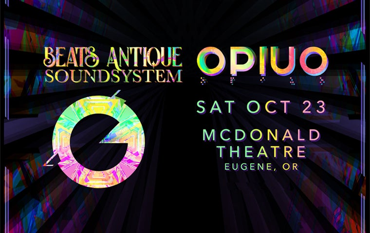 More Info for Beats Antique Soundsystem w/ Opiuo