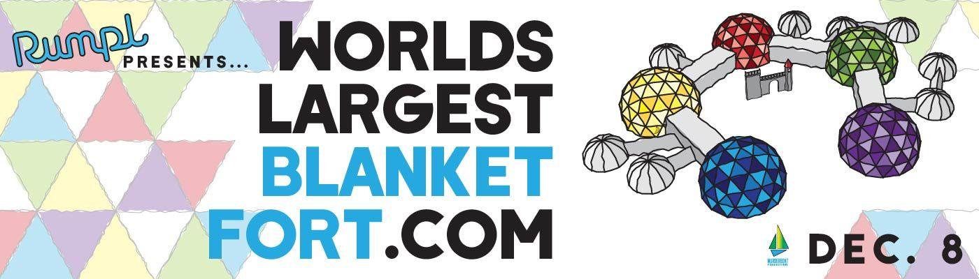 World's Largest Blanket Fort
