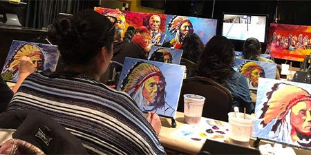 More Info for Native American Sip n Paint