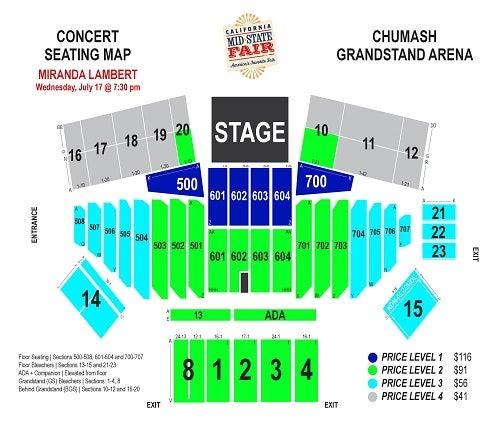 Miranda Lambert Ticketswest