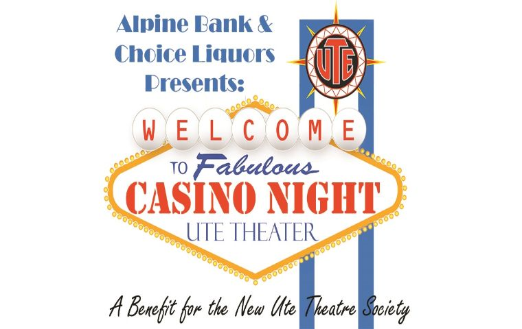 More Info for The New Ute Theater Society Presents Casino Night at the Ute