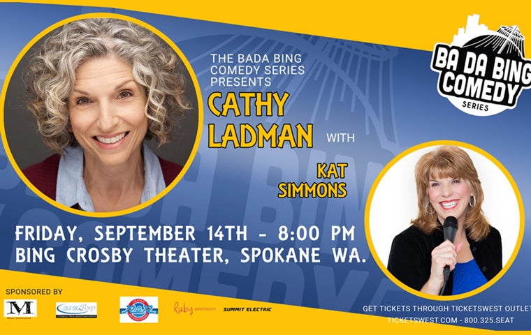 More Info for Cathy Ladman - Bada Bing Comedy