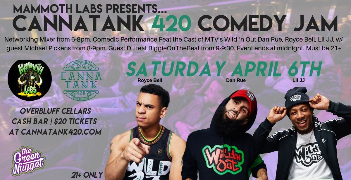 Cannatank420 - Comedy Jam