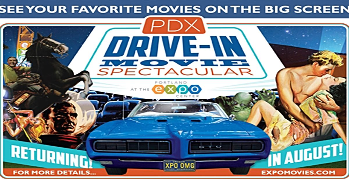 The PDX DriveIn Movie Spectacular TicketsWest - Portland expo car show