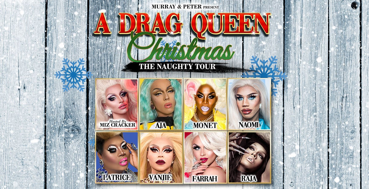 A Drag Queen Christmas 2020 Lineup A Drag Queen Christmas | TicketsWest