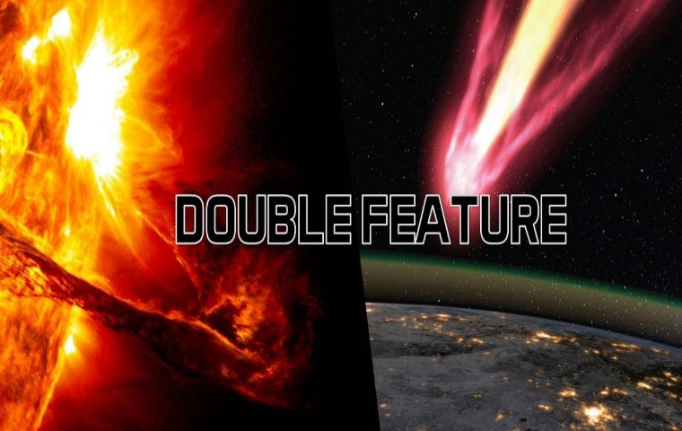 More Info for Double Feature: Incoming! / Solar Superstorms