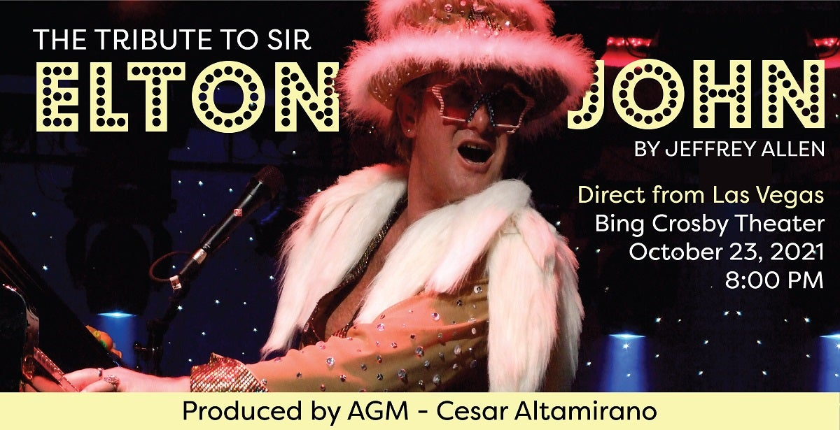 Tribute to Sir Elton John by Jeffrey Allen