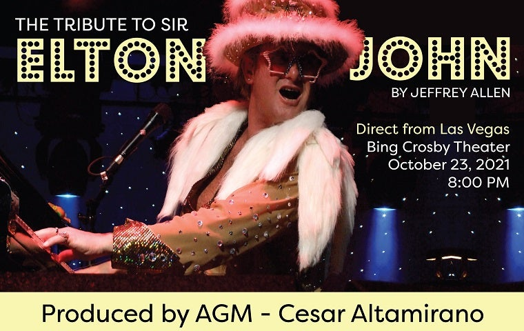 More Info for Tribute to Sir Elton John by Jeffrey Allen