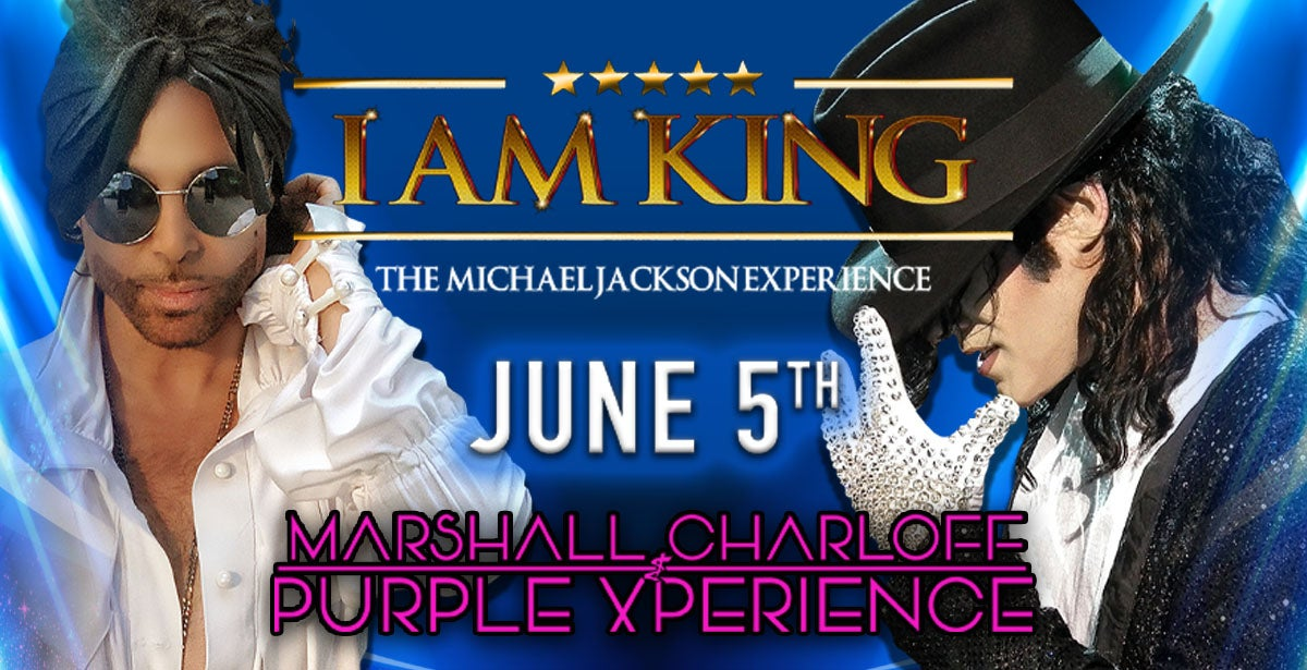 Marshall Charloff Purple Xperience & I AM KING