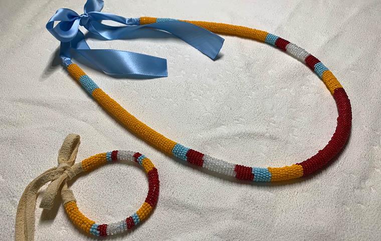 More Info for Make Your Own Bead-Wrapped Necklace OR 2 Bracelets
