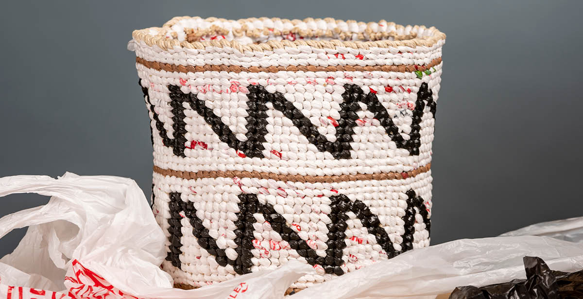 Make Your Own Upcycled Basket