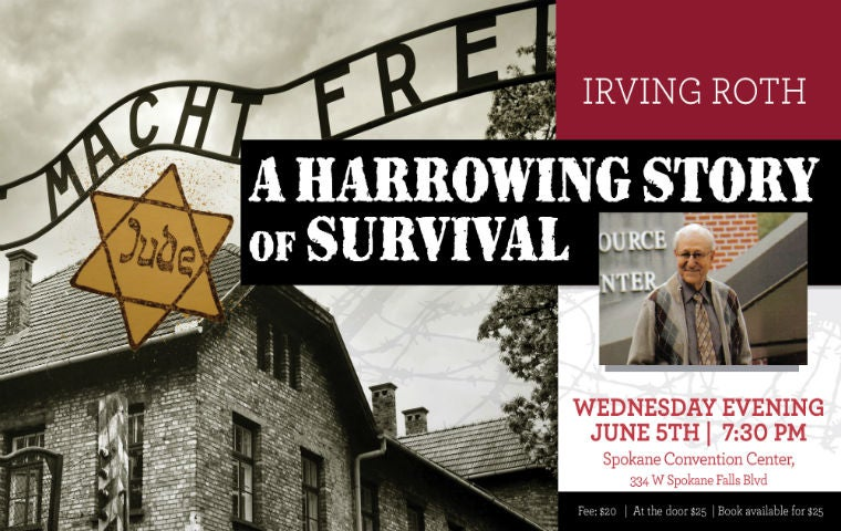 More Info for A Harrowing Story of Survival with Irving Roth