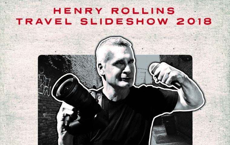 More Info for Henry Rollins Travel Slideshow Tour
