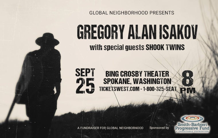 More Info for Gregory Alan Isakov with Shook Twins Duo