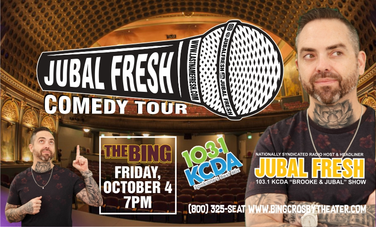 More Info for Jubal Live Fresh Till Death Comedy Tour