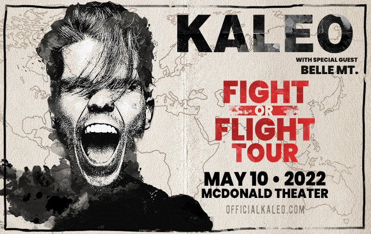 More Info for KALEO - Fight or Flight Tour