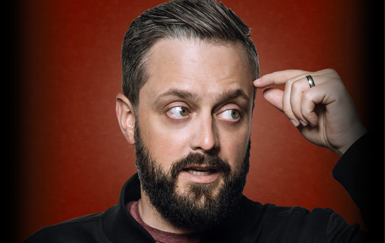 More Info for *RESCHEDULED* Nate Bargatze