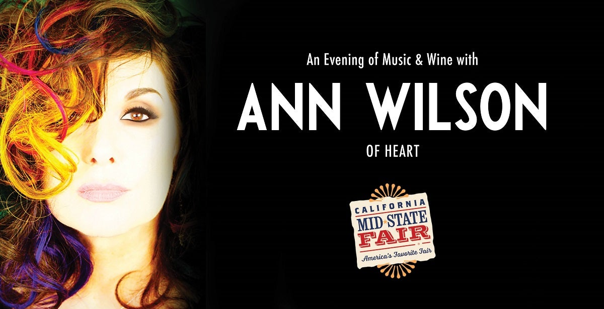 An Evening of Music & Wine with Ann Wilson of Heart