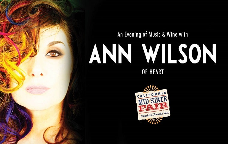 More Info for An Evening of Music & Wine with Ann Wilson of Heart