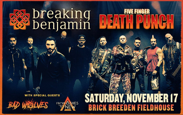 More Info for Breaking Benjamin and Five Finger Death Punch