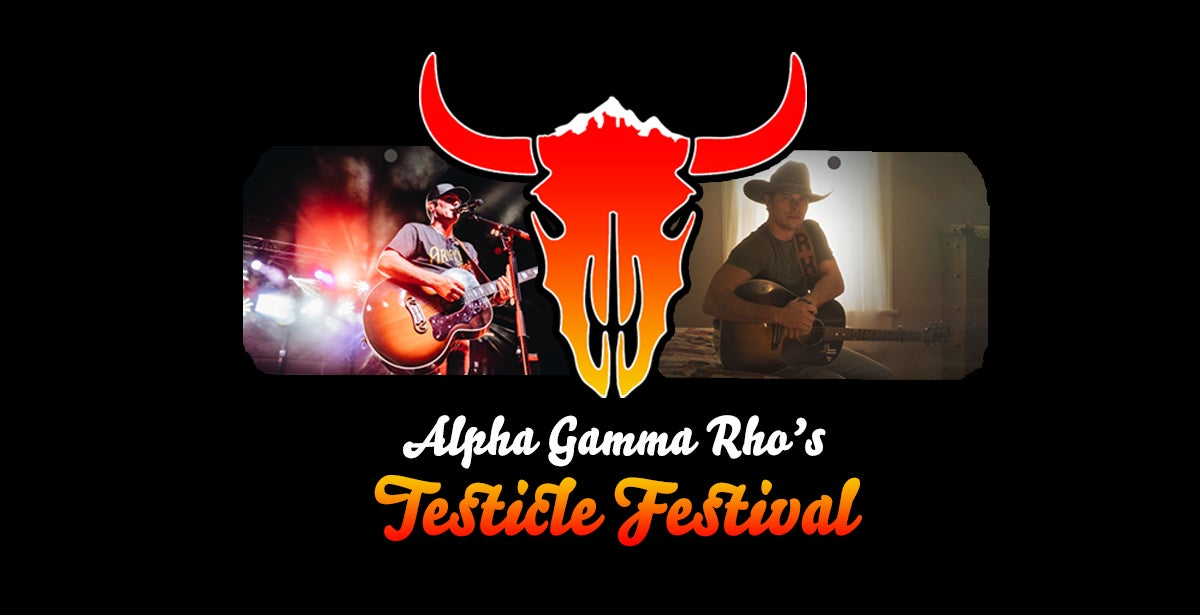 Alpha Gamma Rho's Testicle Festival - Featuring Casey Donahew & Randall King