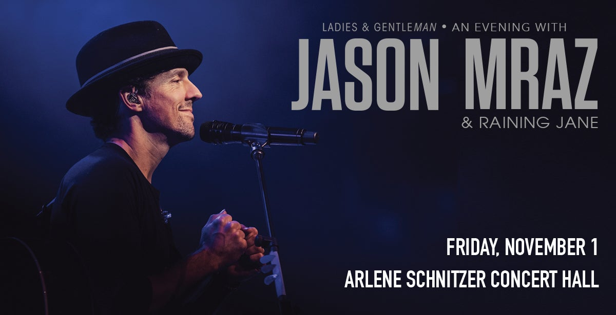 An Evening with Jason Mraz and Raining Jane