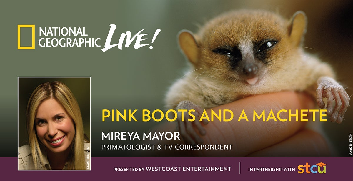 National Geographic Live: Pink Boots and a Machete