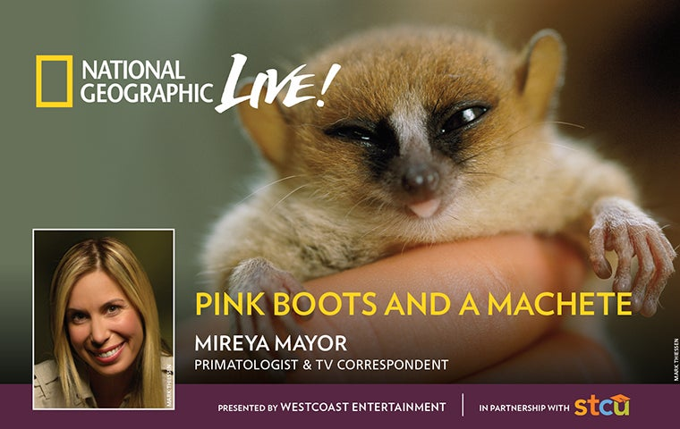More Info for National Geographic Live: Pink Boots and a Machete