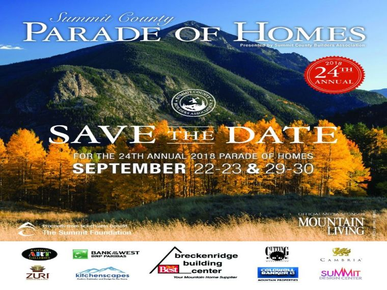 More Info for Summit County Parade of Homes