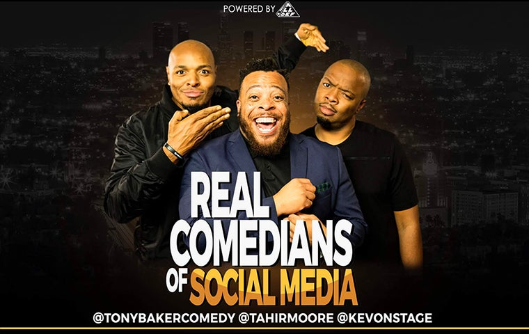 More Info for Real Comedians of Social Media Tour
