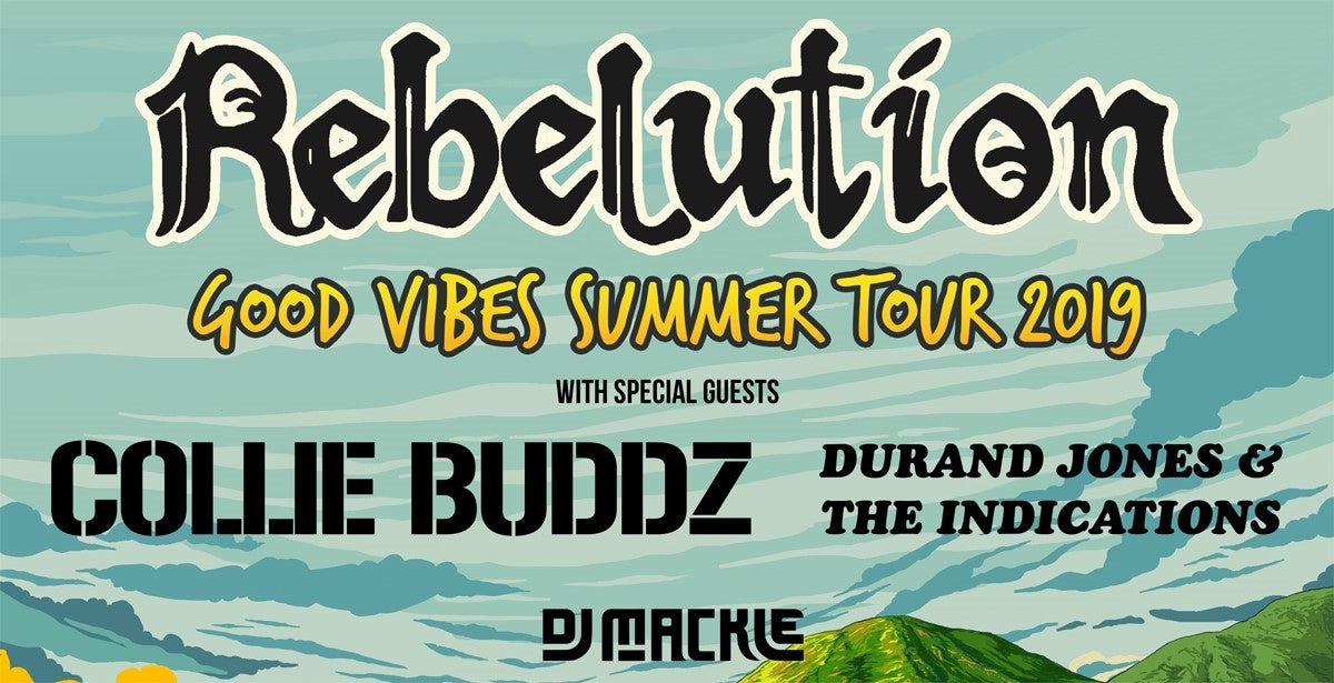 Rebelution: Good Vibes Summer Tour 2019