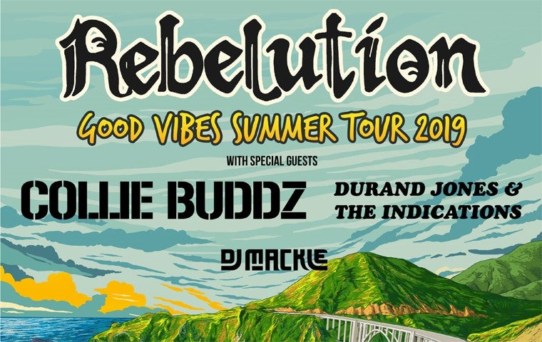 More Info for Rebelution: Good Vibes Summer Tour 2019