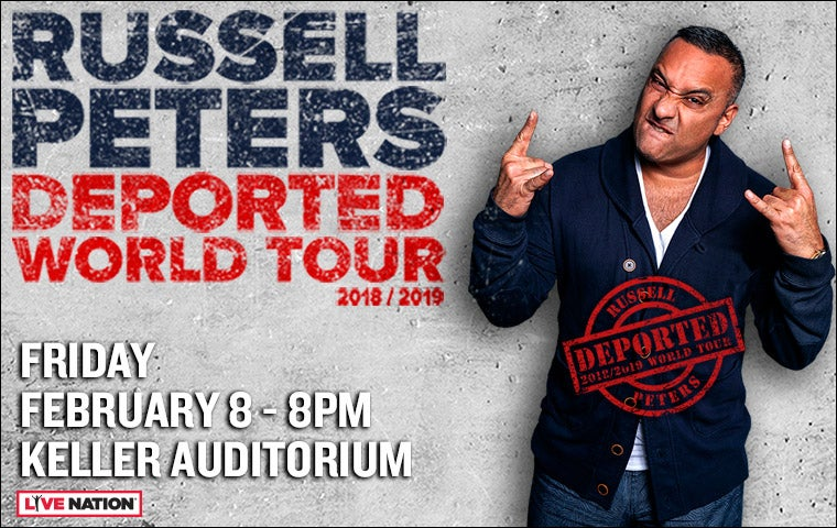 More Info for Russell Peters- Deported World Tour